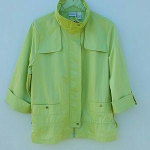 Chico's Zenergy 3 Green Jacket